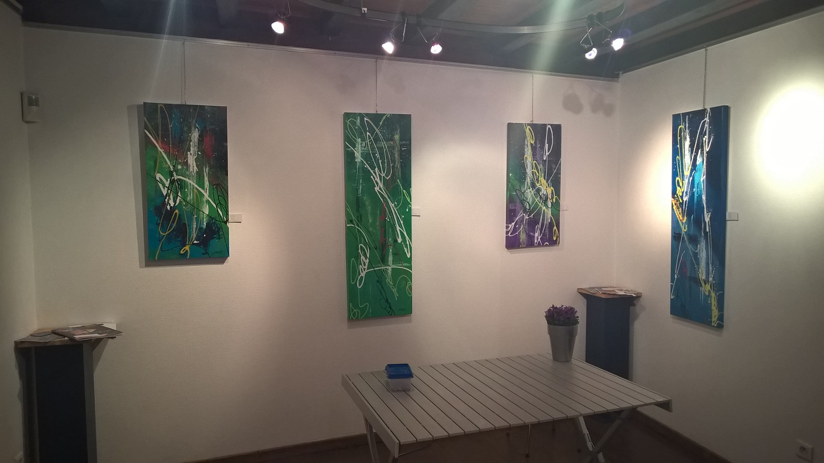 peinture abstraite annecy exposition