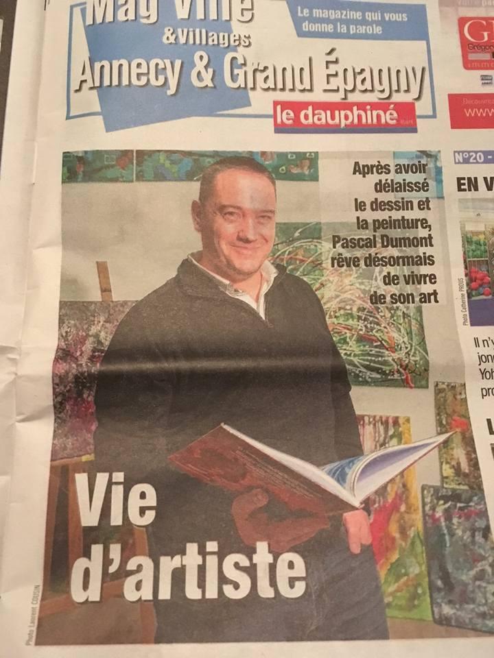 Artiste peintre annecy dauphiné libéré