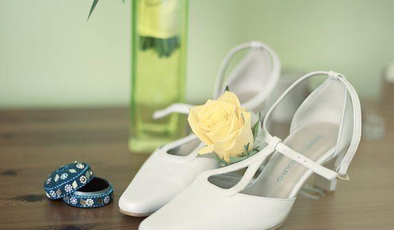 seance photos des préparatifs de mariage