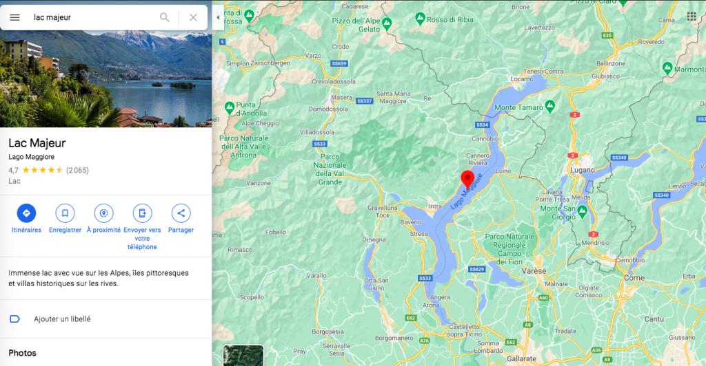 Road trip 1 semaine lac majeur Italie