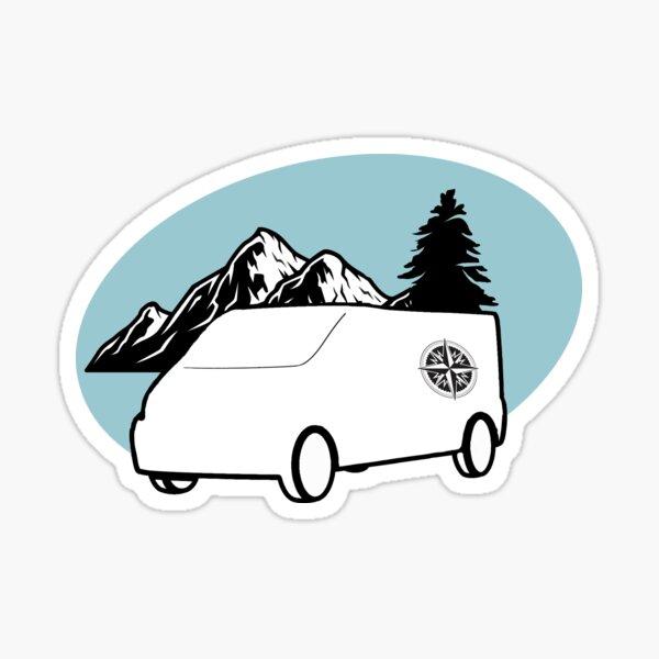 Stickers van road trip d'1 semaine au Lac Majeur (Italie)
