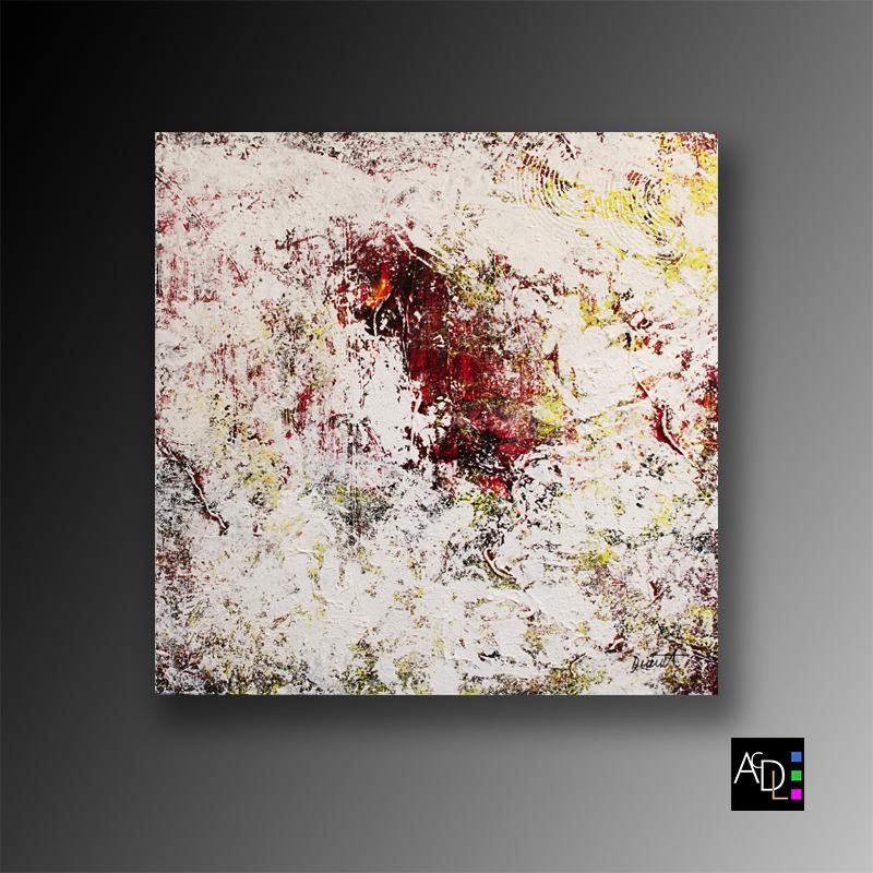 S'inspirer des autres artistes, tableau abstrait moderne