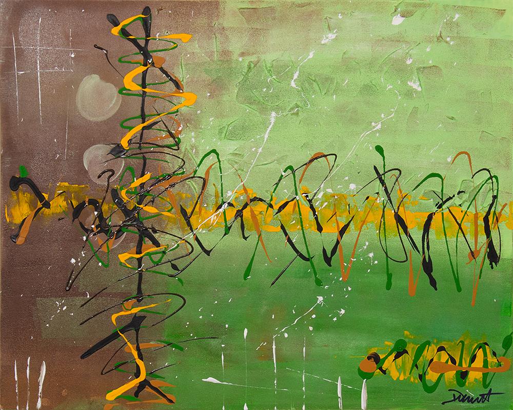 Se lancer dans la peinture abstraite